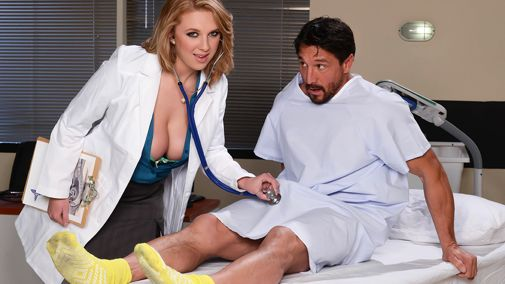 Порно Пышногрудых Медсестер